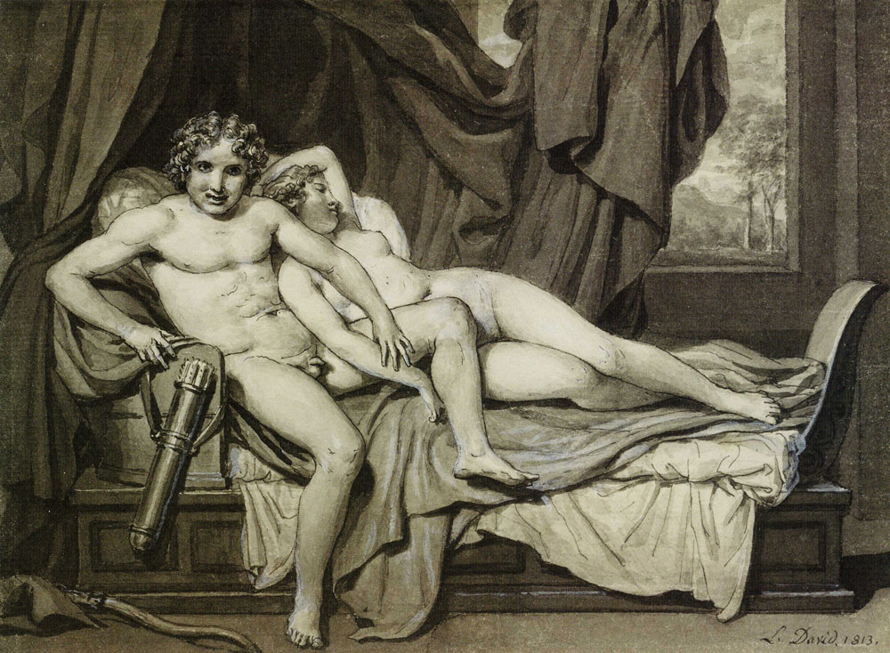Jacques louis david cupid and psyche apologise, but