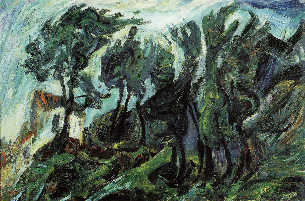 Chaim Soutine - Landscape at Céret