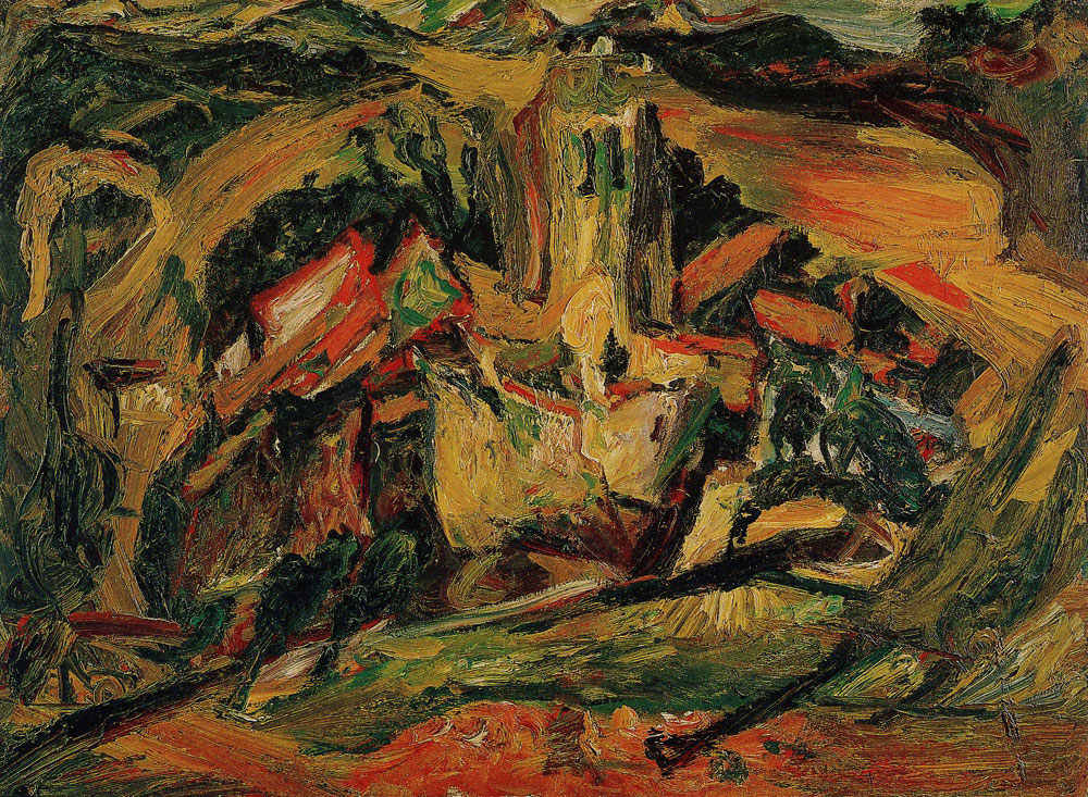 Chaim Soutine - Village Church