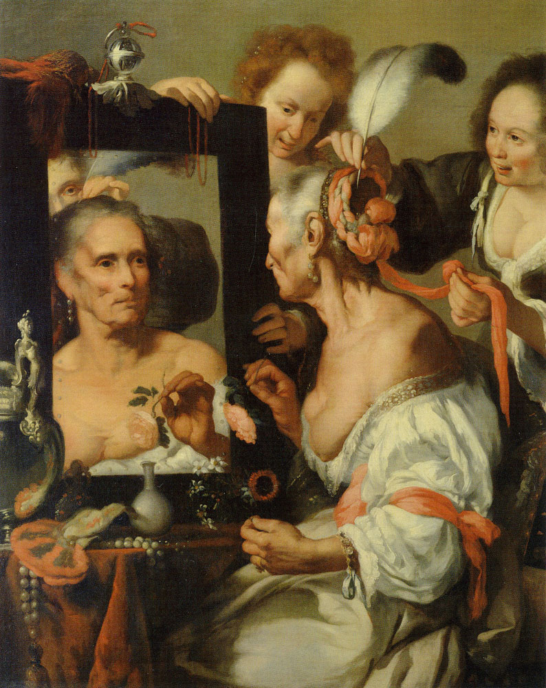 Bernardo Strozzi - Vanitas (The Old Courtesan)