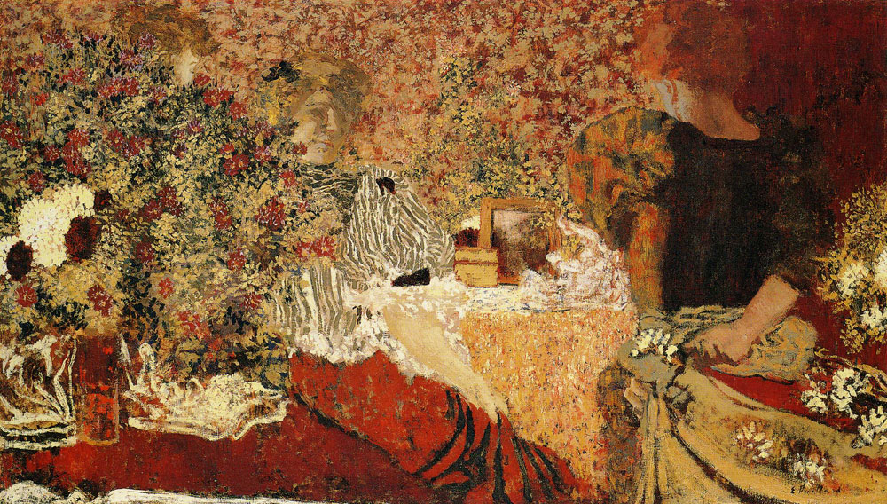 Edouard Vuillard - The Dressing-Table