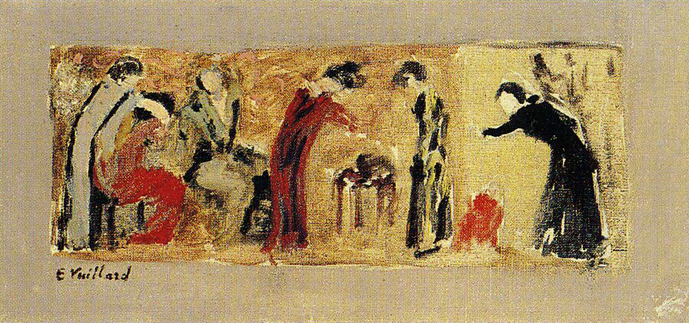 Edouard Vuillard - The Dressmaking Studio - I