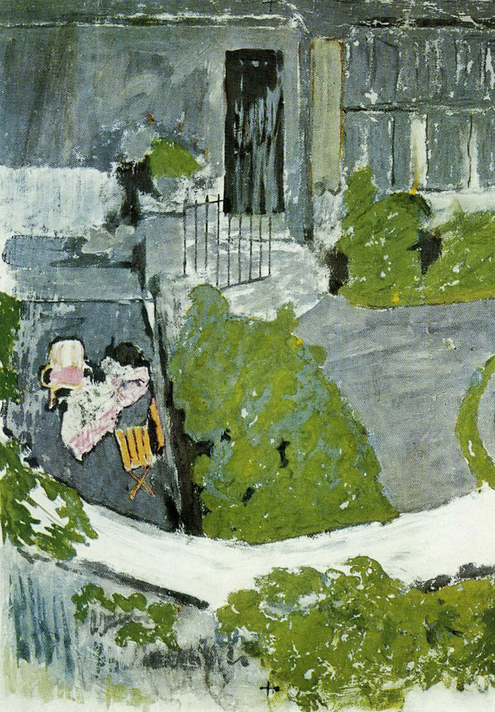 Edouard Vuillard - The Garden in Front of the Studio