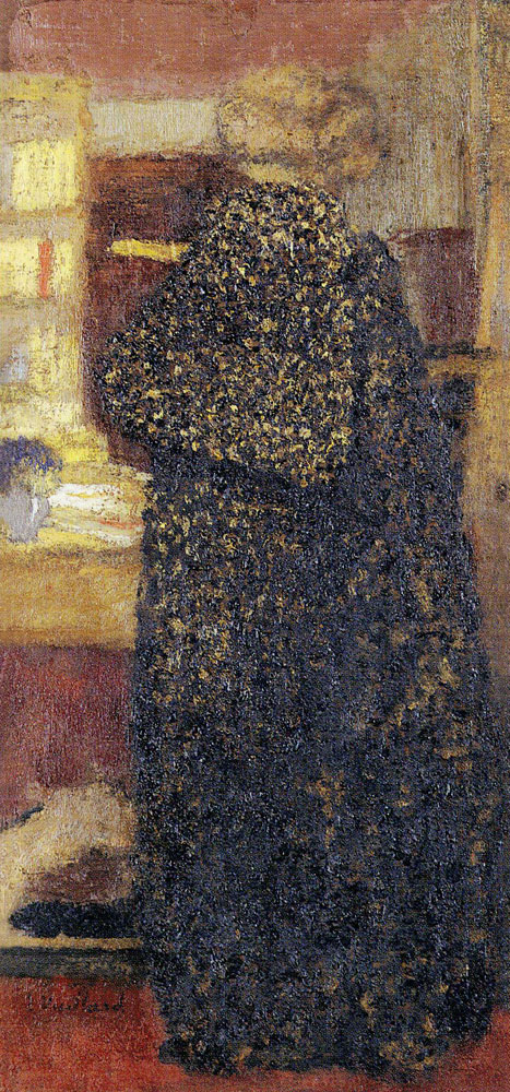 Edouard Vuillard - Misia in a Black and Yellow Peignoir