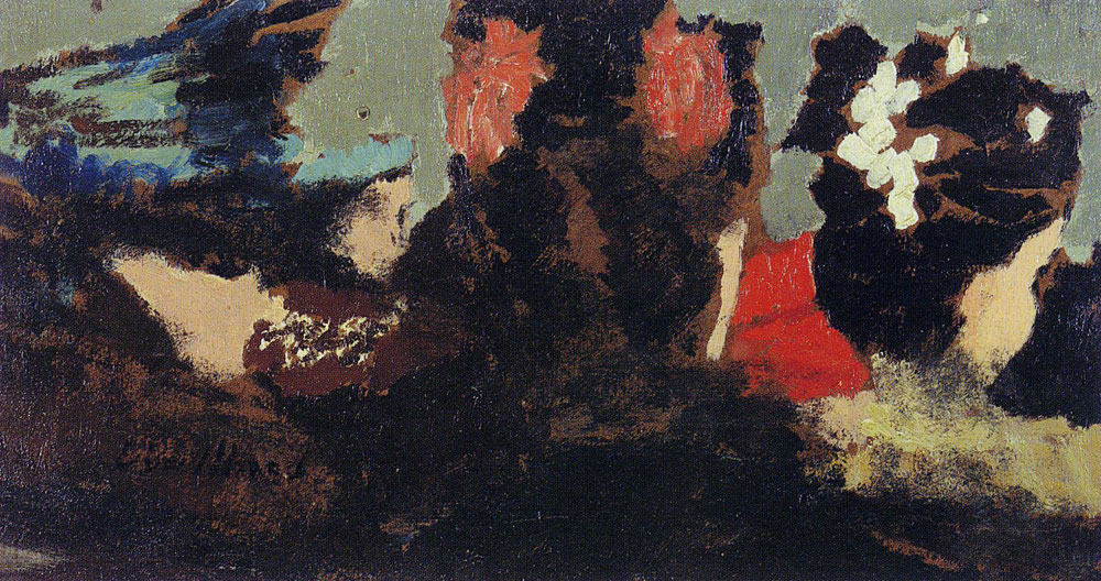 Edouard Vuillard - At the Theâtre de L' OEuvre