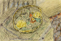 Pierre Bonnard Untitled (Basket of Fruit)
