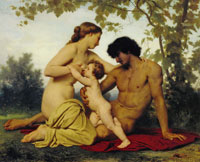 William-Adolphe Bouguereau The Golden Age