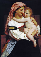 William-Adolphe Bouguereau - Woman of Cervara and her Child