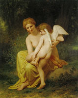 William-Adolphe Bouguereau - Wounded Cupid