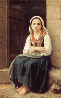 William-Adolphe Bouguereau - Yvonnette