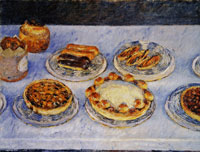 Gustave Caillebotte Pastry Cakes