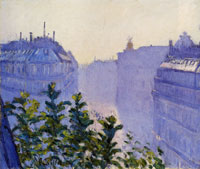 Gustave Caillebotte The Rue Halévy, Seen from a Balcony