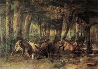 Gustave Courbet Spring Rutting