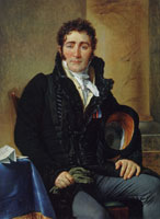 Jacques-Louis David Portrait of Comte Henri-Amédé de Turenne