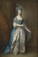 Thomas Gainsborough Portrait of Mrs. William Villebois