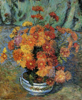 Jean-Baptiste Armand Guillaumin Still Life with Chrysanthemums