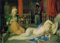 Jean Auguste Dominique Ingres Odalisque with a Slave