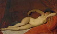 Jean Auguste Dominique Ingres The Sleeper of Naples (replica)