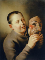 Jan Lievens Boy with a Mask