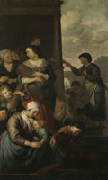 Jacob van Loo Allegory of Distributing Food to the Poor