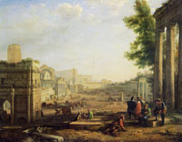 Claude Lorrain View of the Campo Vaccino