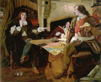 Ford Madox Brown Cromwell, Protector of the Vaudois