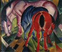 Franz Marc Mare with Foals