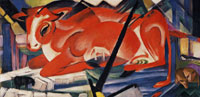Franz Marc The World-cow