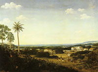 Frans Post - House of a Portuguese Nobleman