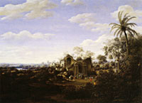 Frans Post - Ruins of the Olinda Cathedral