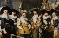 Jan van Ravesteyn - The Officers of the White Flag
