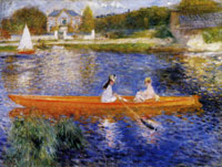 Pierre-Auguste Renoir The Skiff