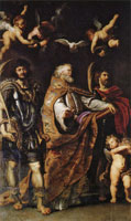 Peter Paul Rubens Sts. Gregory the Great, Maurus and Papia