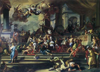 Francesco Solima - Expulsion of Heliodorus from the Temple