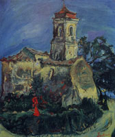 Chaim Soutine Church at Cagnes