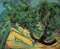 Chaim Soutine Green Trees
