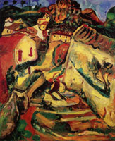 Chaim Soutine Landscape at Cagnes