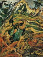 Chaim Soutine Landscape at Céret