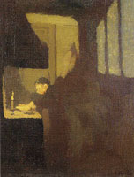 Edouard Vuillard - The Cook with a Candle