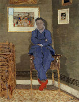 Edouard Vuillard Félix Valloton in His Studio