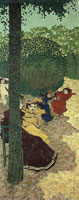 Edouard Vuillard Little Girls Playing