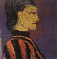 Edouard Vuillard Man in Profile