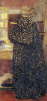 Edouard Vuillard Misia in a Black and Yellow Peignoir