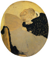 Edouard Vuillard The Oval Woman Darning