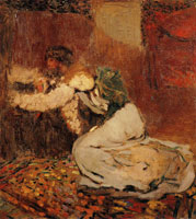Edouard Vuillard M. Roussel and His Wife