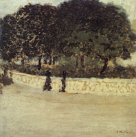 Edouard Vuillard The Balustrade in the Square de la Trinite