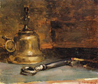 Edouard Vuillard Still Life with Paraffin Lamp