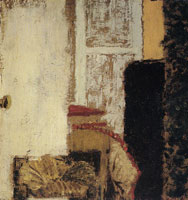 Edouard Vuillard The Straw Stool