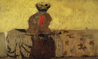Edouard Vuillard Woman with a Red Scarf, probably Misia Natanson