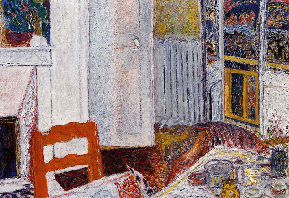 Pierre Bonnard - White Interior